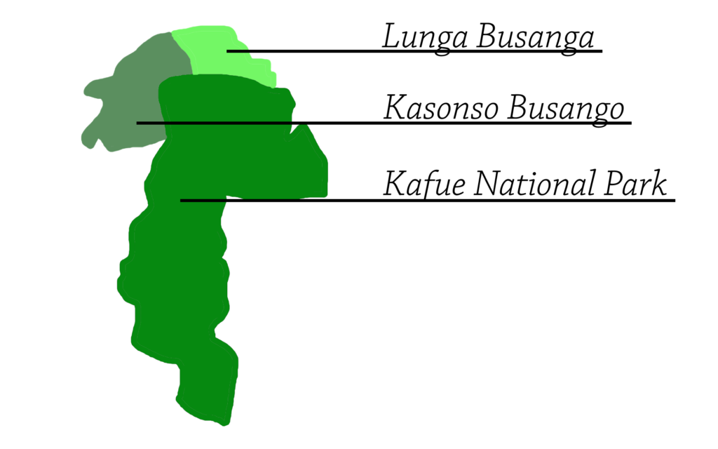 Kufue National Park Map