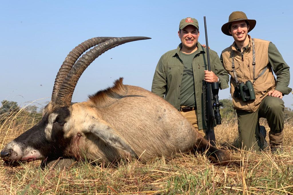 roan hunting zambia