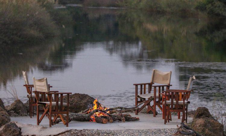 camp fire zambia hunting